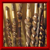 Wands, Canes, and Hiking Sticks