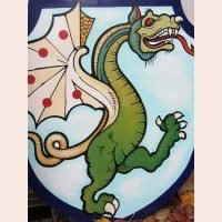 Custom Painted Sign by New World Studios