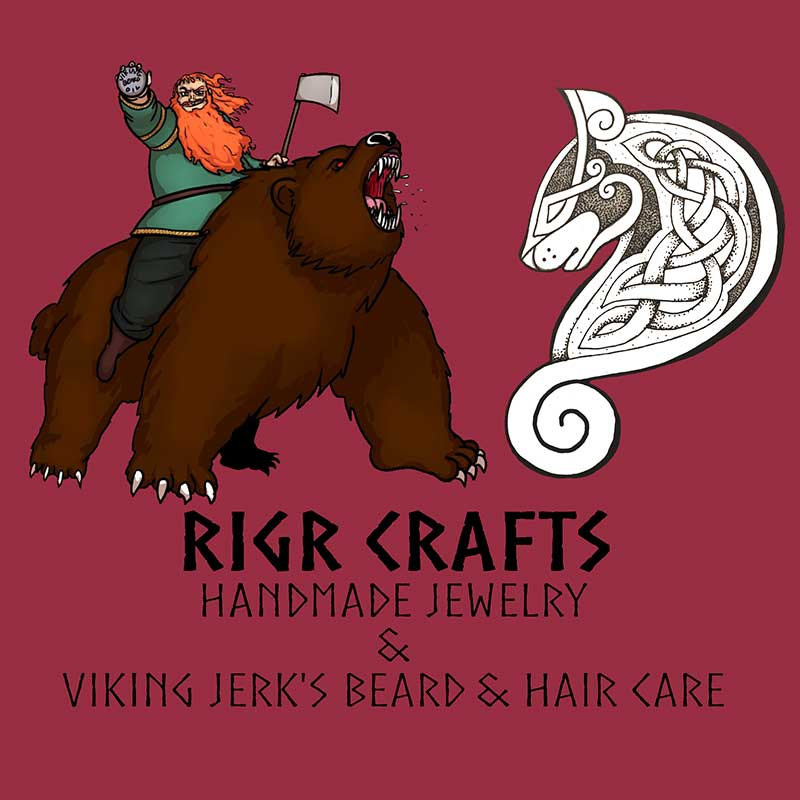 Viking Jewelry and Beard Care by Rigr Crafts