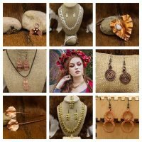 Viking Earrings and Jewelry by Rigr Crafts